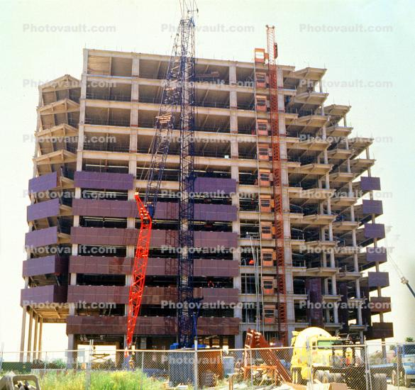 Steel Frame, Office Building Construction
