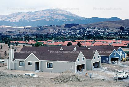 Mount Diablo, Homes, Houses, Buildings, Urban Sprawl