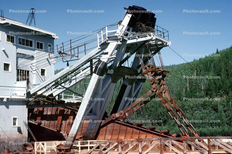 Dredge, Bonanza Creek, Dawson City