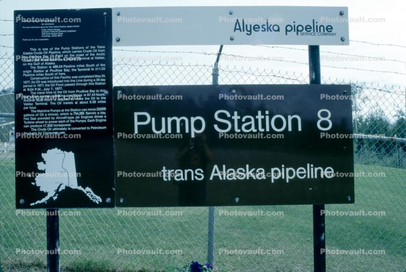 Pump Station Eight, #08, Alaska Pipeline