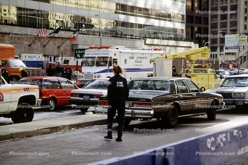 Emergency Vehicles, 1993 World Trade Center bombing, Cars, February 26, 1993