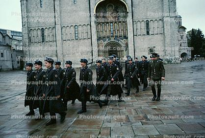 the Kremlin, Soldiers marching