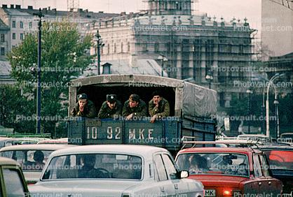 Russian Soldiers, Truck, 1092 MKE