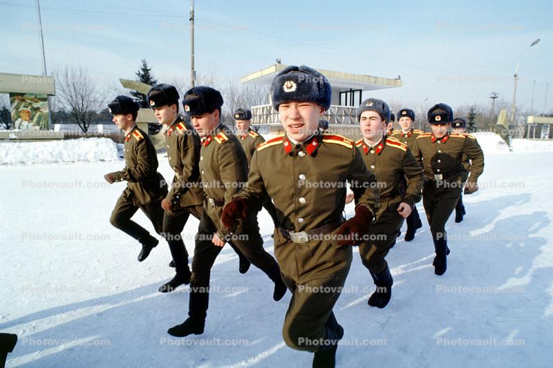 Russian Soldiers, Military Academy