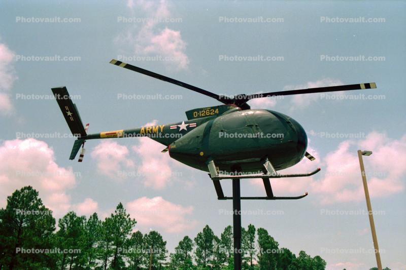 OH-6A Cayuse, Attack Helicopter, milestone of flight