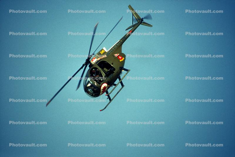 OH-6A Cayuse, flight, flying, airborne