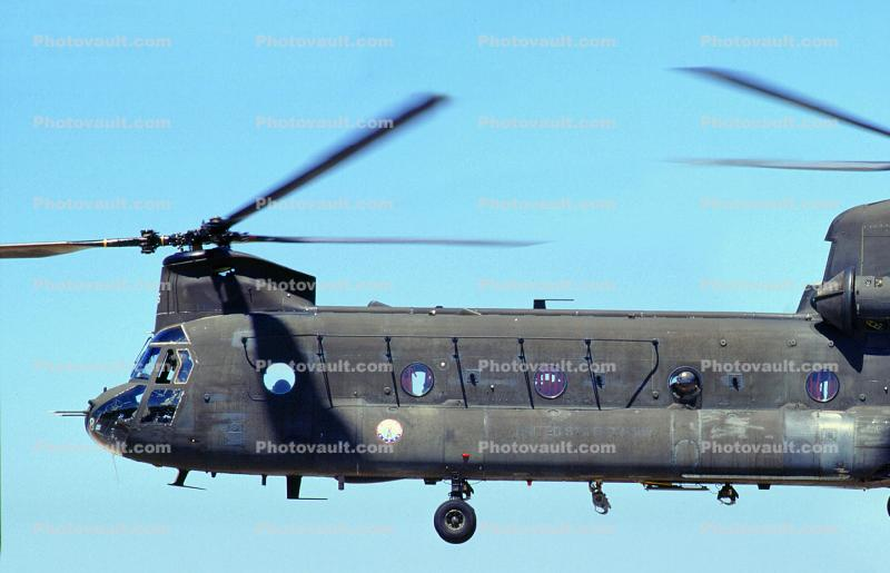 Boeing-Vertol CH-47 Chinook Helicopter
