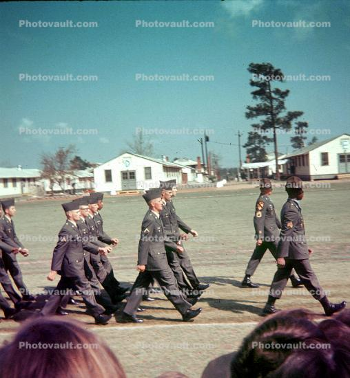 82d Airborne Division, US Army, Marching, Soldiers, Barracks