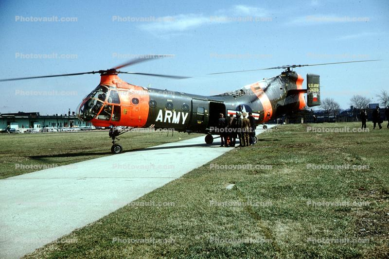 34356, Flying Banana, Helicopter, 1965, 1960s, Unite States Army