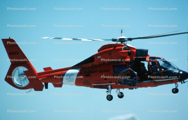 Rescue Basket, HH-65 Dolphin, USCG
