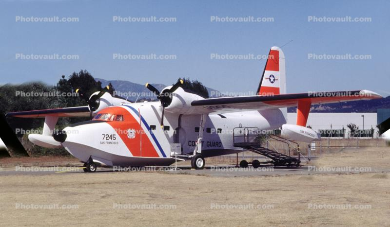7245, HU-16E, Air-Sea Rescue, SAR, USCG
