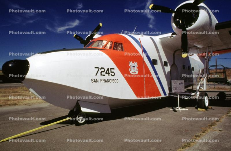 HU-16E, Air-Sea Rescue, SAR, USCG