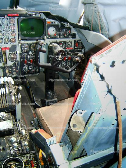 Boeing B-52D Stratofortress Cockpit