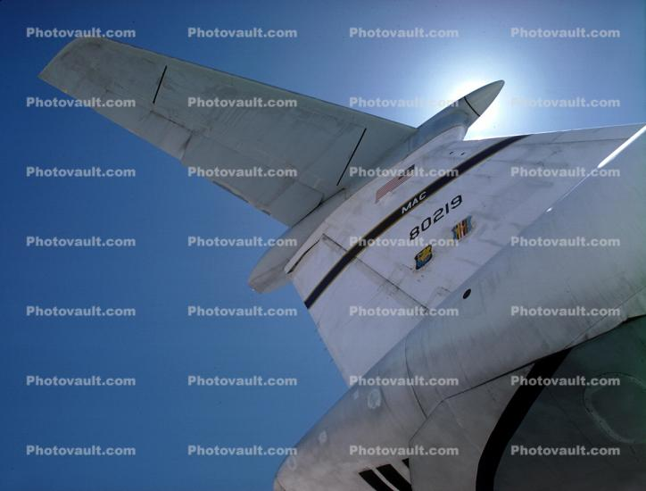 80219, tail, Military Airlift Command, MAC, MATS, tailplane