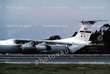 50225, MAC, Lockheed C-141 StarLifter, Monterey Airport, California