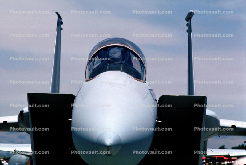 Air Scoops, McDonnell Douglas F-15 Eagle, head-on