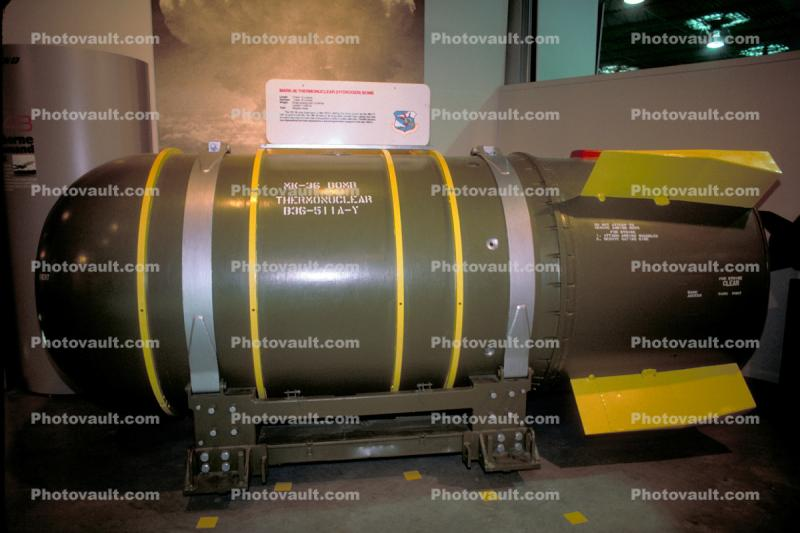 MK-36 Thermonuclear Hydrogen Bomb, heavy high-yield United States nuclear bomb
