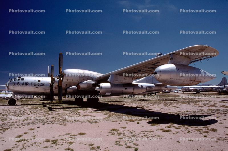 B-50, Monthan Davis, United States Air Force, USAF