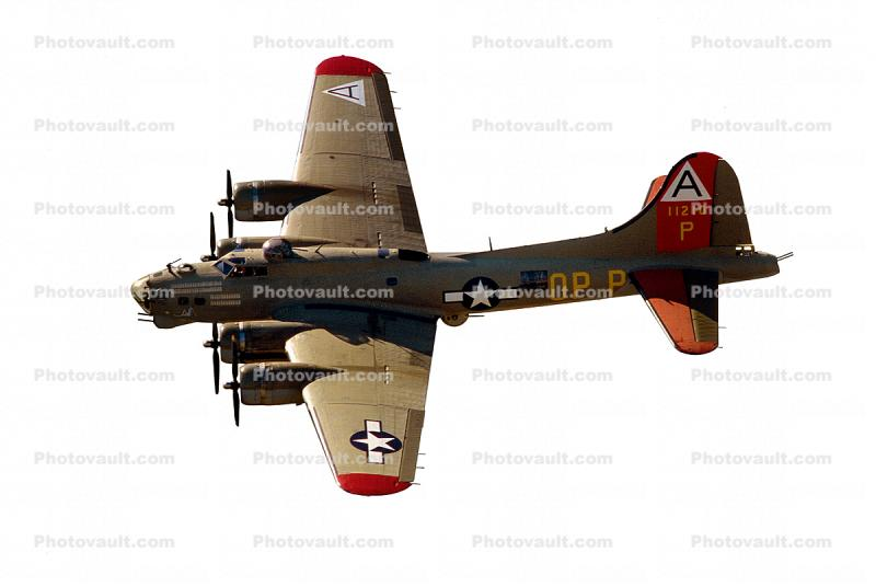Boeing B-17 Flyingfortress, photo-object, object, cut-out, cutout