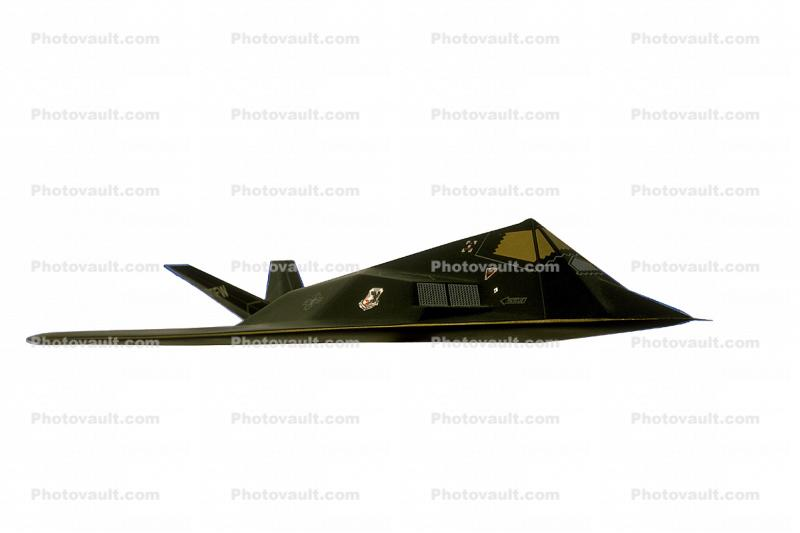 Lockheed F-117A Stealth Fighter, photo-object, object, cut-out, cutout