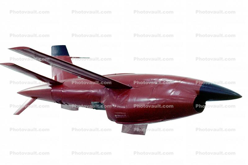 Ryan BQM-34 Firebee, Target Drone Missile, UAV, drone, photo-object, object, cut-out, cutout