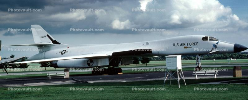 Rockwell B-1 Bomber, Lancer, Wright-Patterson Air Force Base, Fairborn, Ohio, Panorama