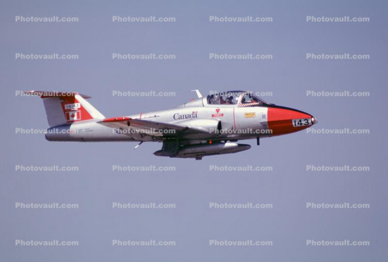143, CT-114 Tutor basic pilot training aircraft, RCAF, Royal Canadian Air Force
