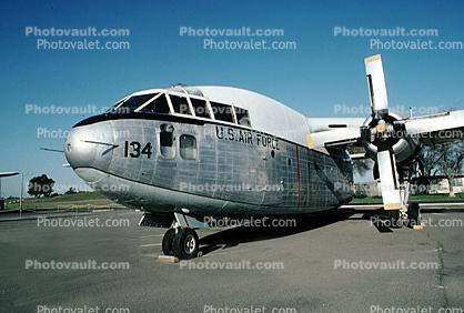 "Fairchild C-119 ""Flying Boxcar"", Travis Air Force Base, California"