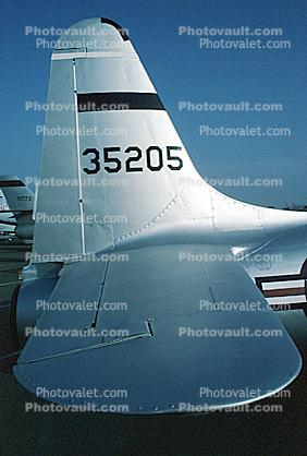 T-33A T-Bird, McClellan Air Force Base, 35205, USAF