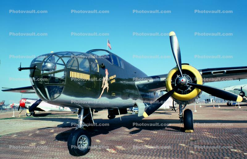 North American, B-25 Mitchell, March Air Force Base, Sunny Mead, California