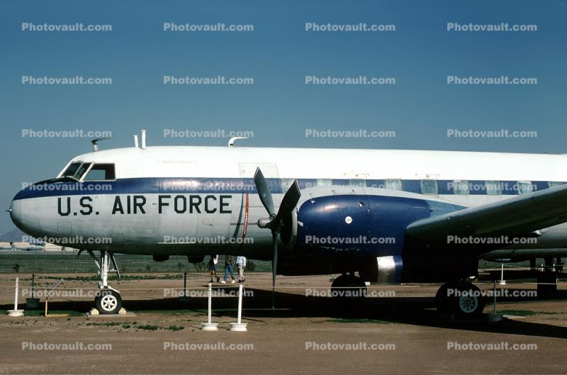 Convair 440, C-131 Samaritan, March Air Force Base