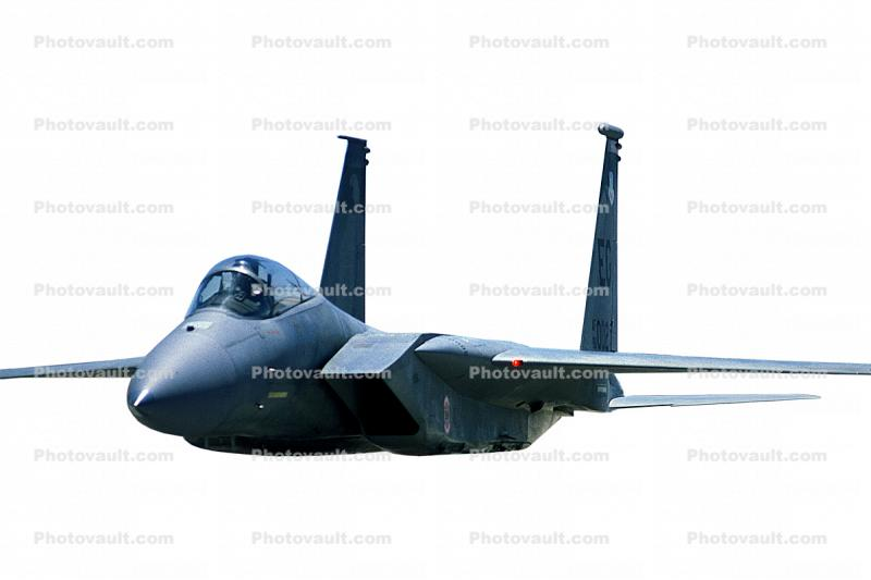 McDonnell Douglas, F-15 Eagle, photo-object, object, cut-out, cutout, Travis Air Force Base