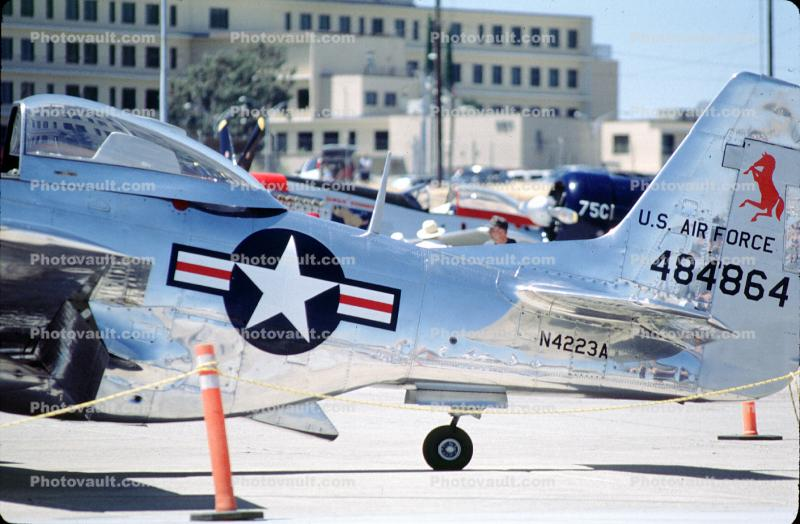 North American P-51D Mustang, tailwheel