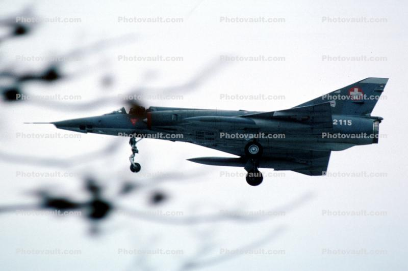 R-2115, Dassault Mirage III, Swiss Air Force