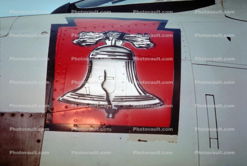 Liberty Bell, noseart, logo, insignia, mark, symbol, graphic