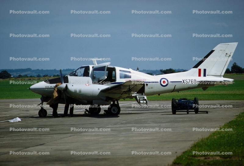 XS768, RAF, Royal Air Force, Beagle 206S, Turbo Supercharged