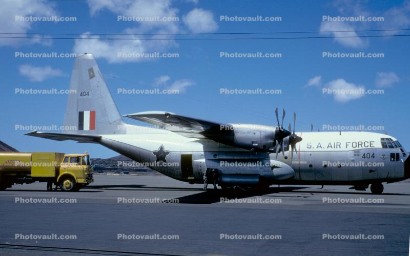 404, Lockheed C-130, S.A. Air Force, Ford Truck, South Africa