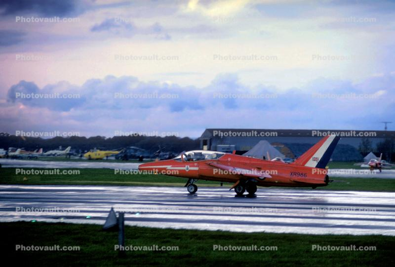 XR-986, XR986, Folland FO-141 Gnat, subsonic jet trainer, light fighter aircraft, RAF