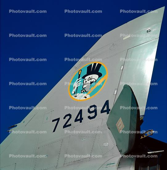 72494, Convair F-106 Delta Dart, Shield, insignia, emblem, USAF, United States Air Force
