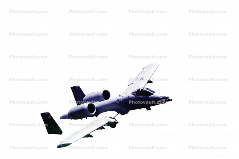 A-10 Thunderbolt, Warthog, photo-object, object, cut-out, cutout