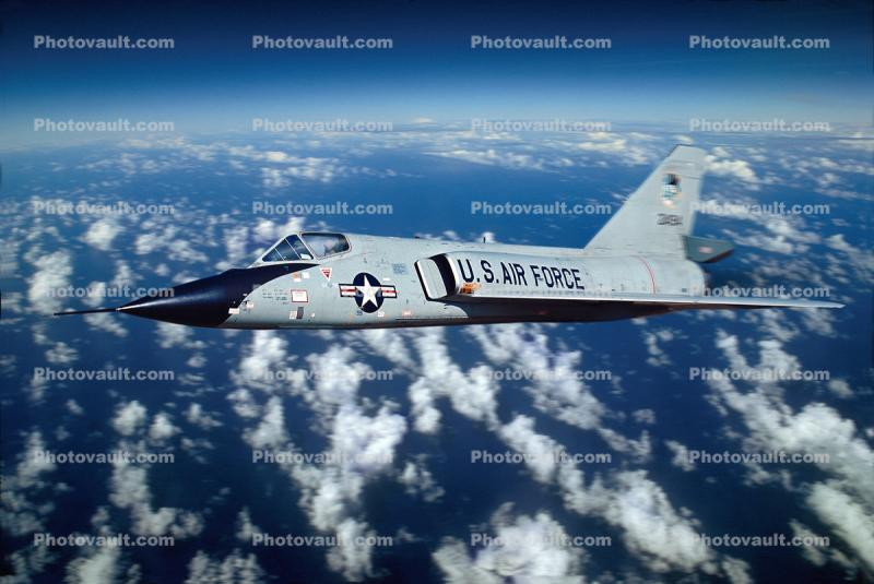 2494 Convair F-106 Delta Dart in High Flight, 1960s