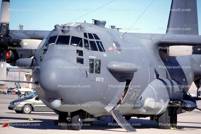 "6573, AC-130H Spectre, 69-6573, Spooky, Gunship, ""Heavy Metal"", Nellis Air Force Base, Attack Aircraft"