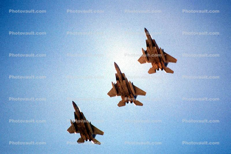 Formation Flying, McDonnell Douglas, F-15 Eagle