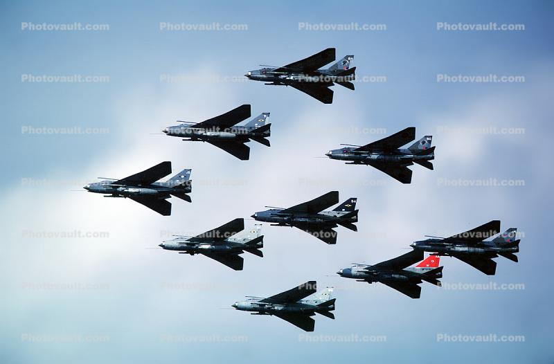 English Electric Lightning, Supersonic Fghter Aircraft, Interceptor, milestone of flight