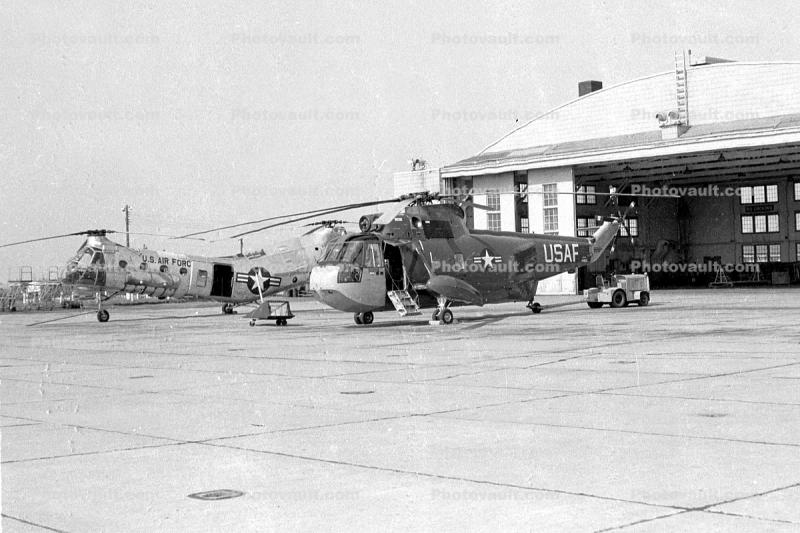 UH-19B Helicopter, USAF, 1950s