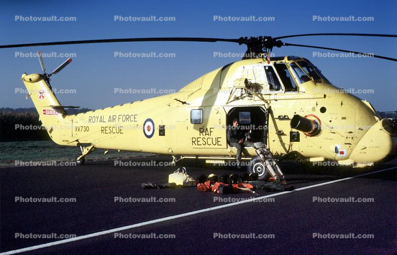 Roayl Air Force, Westland Helicopter