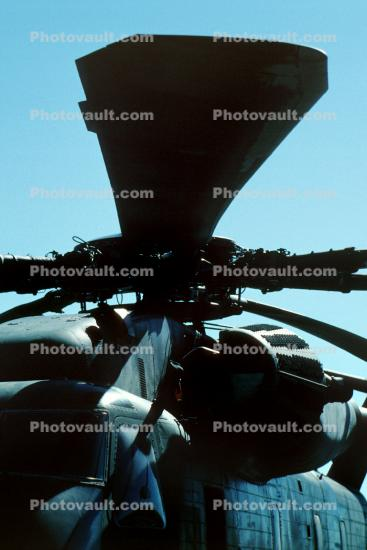 Rotor blades of a Sikorsky CH-53 Stallion, Turbine Engine, Rotor Disk