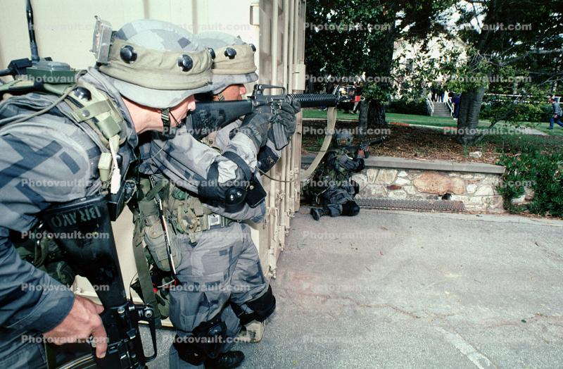 Monterey, Operation Kernel Blitz, M16 Rifle, urban warfare training