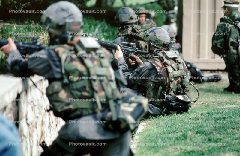 M16 Rifle, Sharpshooter, Monterey, Operation Kernel Blitz, urban warfare training