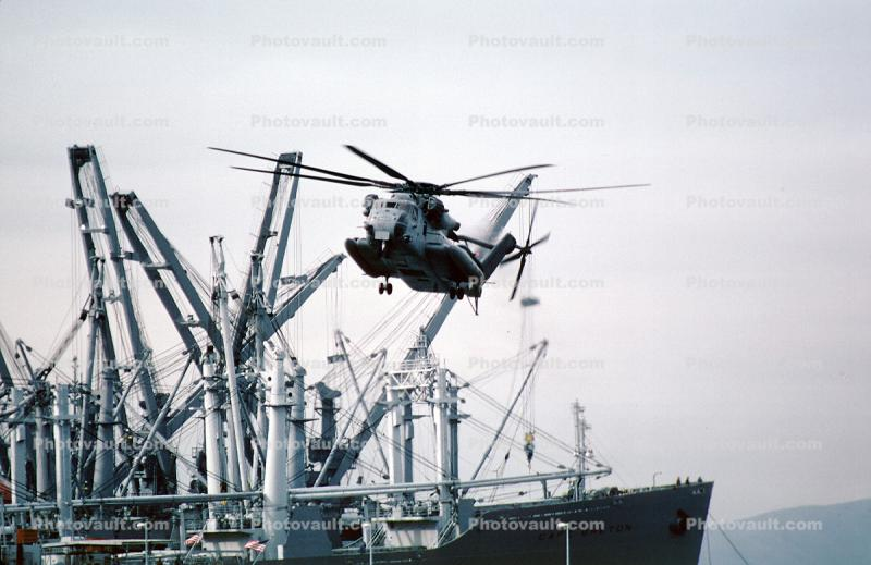 ships, Sikorsky CH-53E Super Stallion, flight, flying, urban warfare training, Operation Kernel Blitz